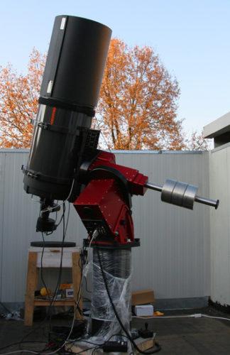 Lo Schmidt-Cassegrain Celestron 14″ f/8.4 (356/3100 mm)