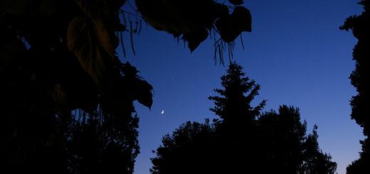 La Luna, Venere e Giove: 20 giugno 2015