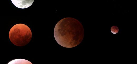28 Settembre 2015: eclissi totale di Luna - poster