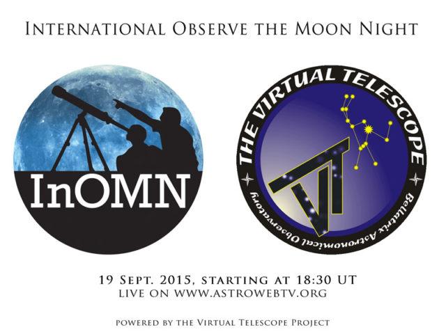 International Observe the Moon Night: 19 settembre . 2015