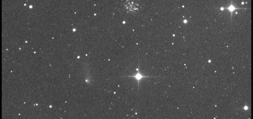 La cometa 315P/Loneos, Palomar 4 e PGC 1846998 - 21 Apr. 2017