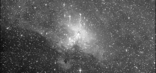 "Messier 16, la nebulosa ""Aquila"""
