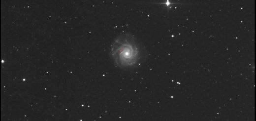NGC 3938 e la supernova SN 2017ein: 28 maggio 2017