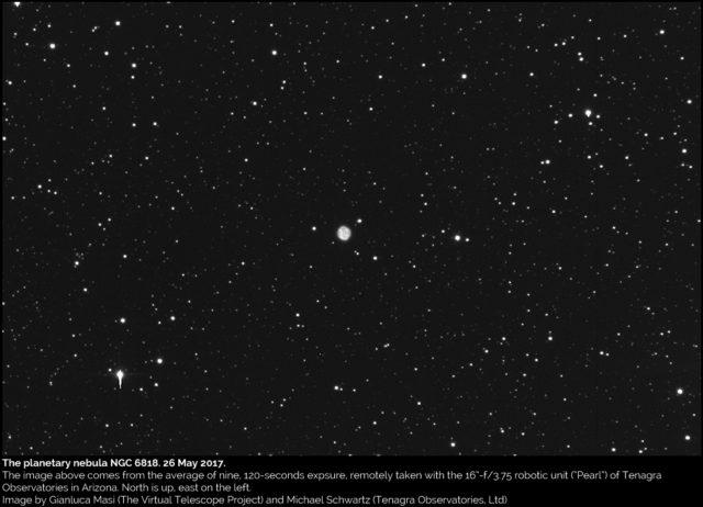 La Nebulosa Planetaria NGC 6818