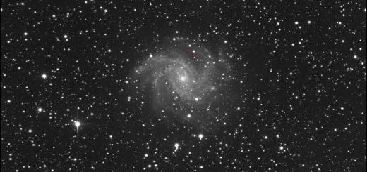 Supernova SN 2017eaw e NGC 6946: 25 maggio 2017