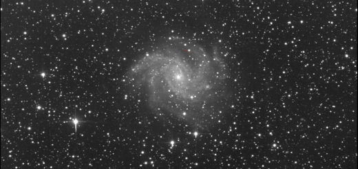 Supernova SN 2017eaw and NGC 6946: 16 giugno 2017
