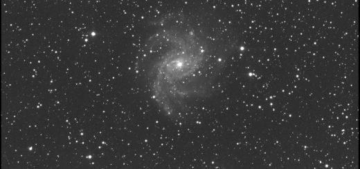 Supernova SN 2017eaw e NGC 6946: 9 luglio 2017