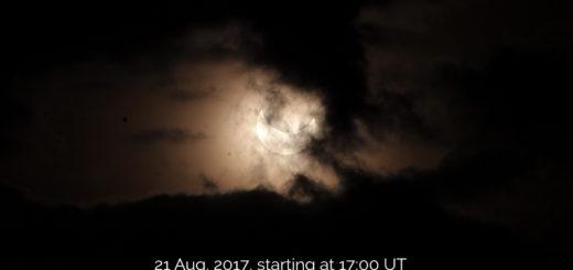 La sessione di osservazione online dell'imminente eclissi totale di sole del 21 Agosto 2017