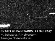 C/2017 U1 PanSTARRS - 21 Ottobre 2017