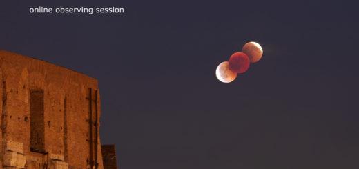 21 gennaio 2019, eclissi totale di Luna - locandina